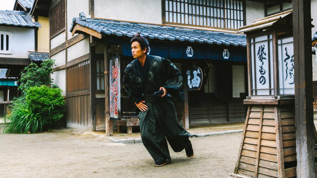 samurai en action